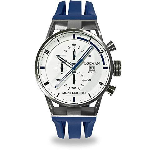 Montre chronographe Homme Locman Montecristo Casual Cod. 051000WHFBL0GOB