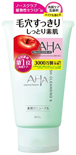 B&C Laboratories Cleansing Research Make Up Cleansing Wash with AHA b - 120g (japan import)