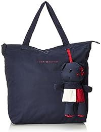 Tommy Hilfiger - Mascot Foldaway Tote Bear, Bolsos totes Mujer, Blau (Tommy Navy), 11x41x36 cm (W x H D)