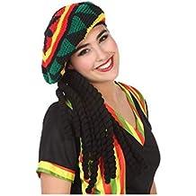 Atosa-57883 Gorro con Rastas Jamaicano (57883) c6c2d311e26