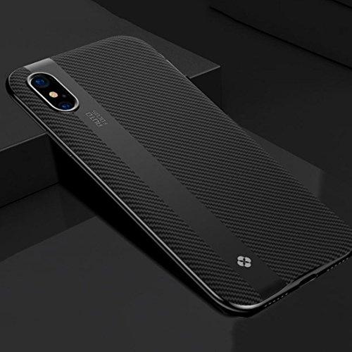 GHC Cases & Covers, für iPhone X PC + TPU Schutzhülle für die Rückseite ( Color : Black - Handy Brieftasche Speck
