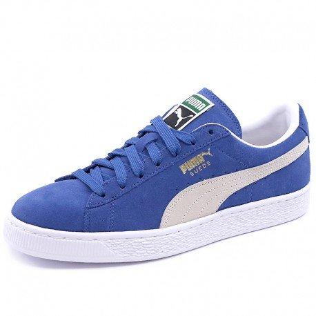 Puma Baskets Mode Suede Bleu