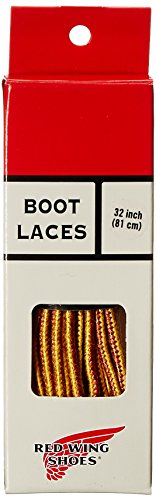 Red Wings-stoff (Red Wing Boot Laces rawhide/gold/tan/120cm)