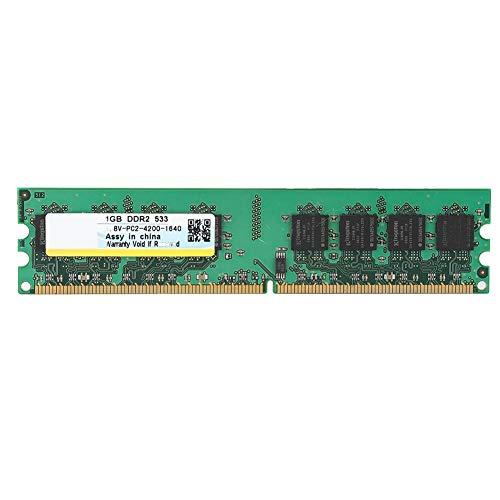 Tosuny 1 GB DDR2-Speicher 533 MHz PC2-4200 DDR2-Desktop-Speicher RAM-Modul 240 PIN für AMD Motherboard -