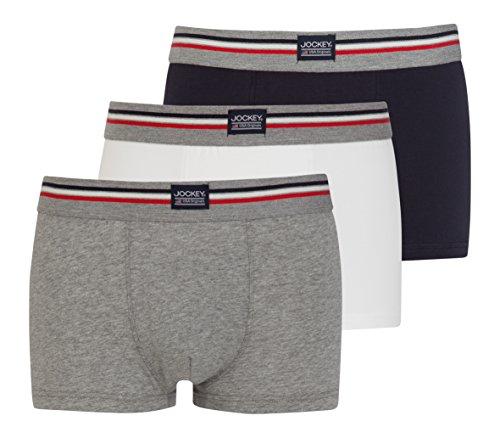 Jockey® Short Trunk 3er Pack, Marineblau, Größe XL -