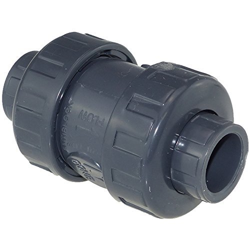 PVC Rückschlagventil Klebmuffe 50 mm