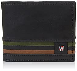 US Polo Association Black Mens Wallet (USAW0558)