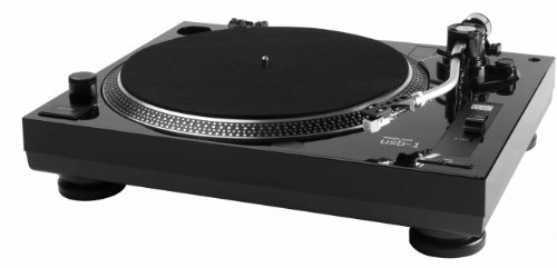 Music Hall usb-1 belt-drive Audio Turntable schwarz - Plattenspieler (MP3,