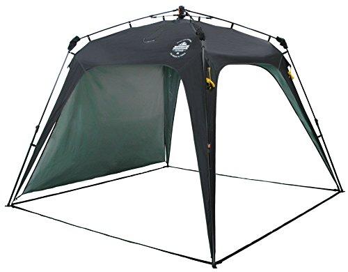 Lumaland Outdoor Pavillon Gartenzelt Camping Partyzelt Zelt robust Schwarz