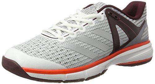 Adidas Court Stabil 13 Women's Scarpe Interne - SS17 Bianco (Ftwbla/Plamet/Granat)