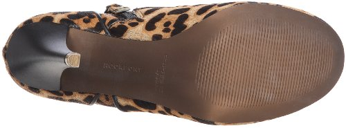 Rockport Presia Zip Shootie K72314, Scarpe col tacco donna Beige (Beige (Leopard Pony))