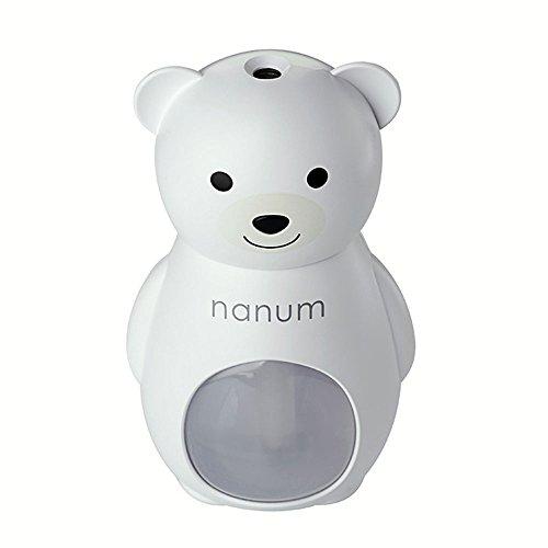 Preisvergleich Produktbild Sedeta® Weiß nanum kreativer Bär Luftbefeuchter Air Diffuser Purifier Fresheners für Mädchen Frau Auto Büro nach Hause Schlafzimmer Reise