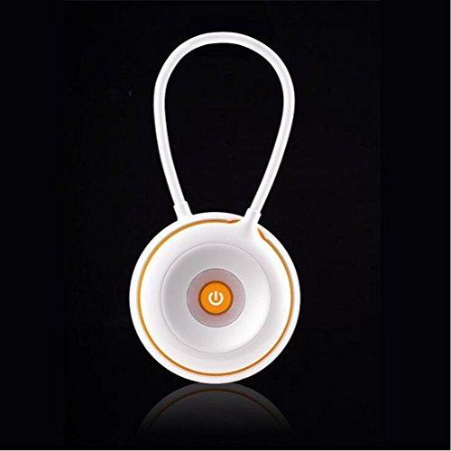 FACAIG Dokumentenportal Lernen Auge Lampe USB aufladbaren Nachttischlampe LED tragbare Tragbare tragbare Lampe, orange (Tragbare Bogen Led)
