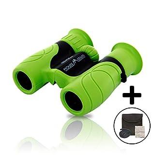 Monte Stivo® Junior   Kinder-Fernglas 8X21   Klein leicht & kompakt - perfekte Begleiter für alle Entdecker & Abenteurer