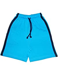STABLE IMPEX Mens Bermuda Shorts With Contrast Side Panel And Side Pockets (M)