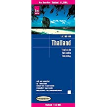 Reise Know-How Landkarte Thailand (1:1.200.000): world mapping project