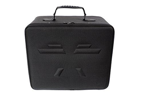 QB1-Tasche von QUADRA-BOX® | Die beste Tasche für DJI Phantom 3 & 4 Drohnen / Quadcopter | Anpassbar | Ultraleicht | Präzisionsschaumstoff für die sichere Lagerung der Drohne