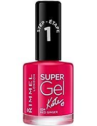 [Sponsorisé]Rimmel - Super Gel By Kate - Vernis à ongles - Red Ginger (rose) - 12 ml