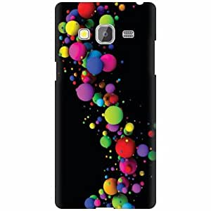 Samsung Z3 Hard Plastic Back Cover - Multicolor Designer Cases Cover by Printland
