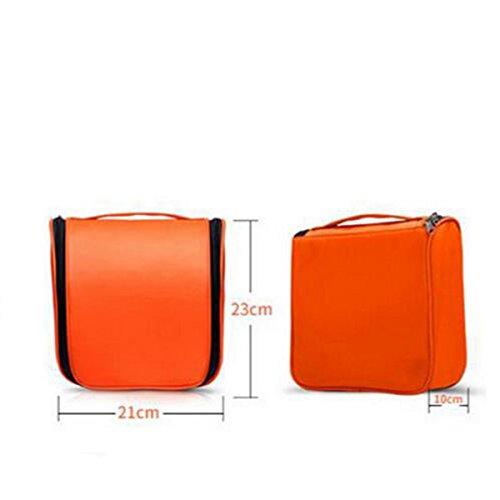 Jia Qing Sacchetto Cosmetico Di Corsa Di Viaggio Di Nylon Multifunzionale Di Viaggio Di Viaggio Impermeabile Sacchetto Cosmetico Di Grande Capacità Yellow
