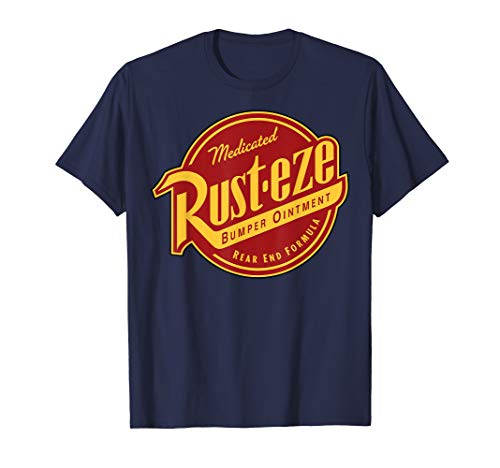Disney Pixar Cars 2 Rust-Eze Ointment Logo Graphic T-Shirt