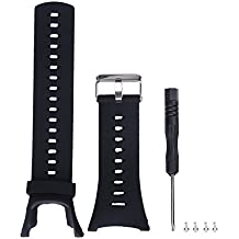 V.one Bracelet Watch Band flexible en Silicone pour Suunto Ambit 3 Peak / Ambit 3 / Ambit 2 / Ambit 1