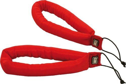 Drachen-Lenkschlaufen, gepolstert - rot