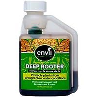 Envii Deep Rooter – Tratamiento y Estimulador de Raíces Mejora el Crecimiento Altura y Grosor de las Raíces de las Plantas - (250ml)