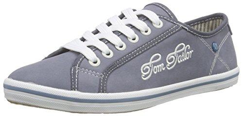 Tom Tailor Tom Tailor Damenschuhe, Baskets Basses femme Bleu - Bleu jean