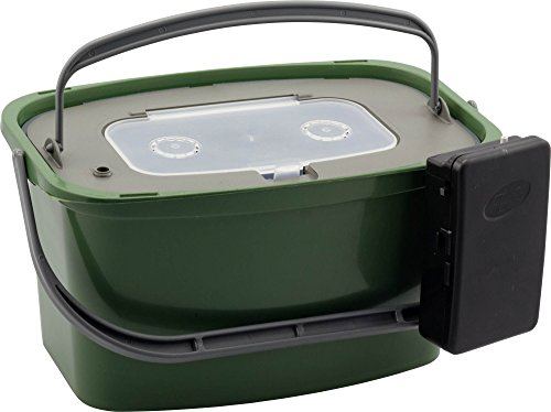 PLASTILYS T/SV7H Seau à Vif + aérateur Vert 7 L