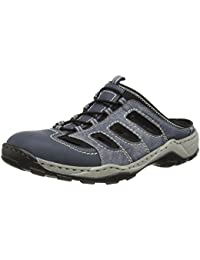 menZoccoli Uomo Amazon Rieker08096 Clogs Mulesamp; Grigio shoes FJ3TlcuK1