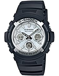 Casio Herren-Armbanduhr G-Shock Analog - Digital Quarz Resin AWG-M100S-7AER