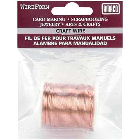 Filo di rame Amaco Wireform Wireform 9m - Copper Wire Bobine
