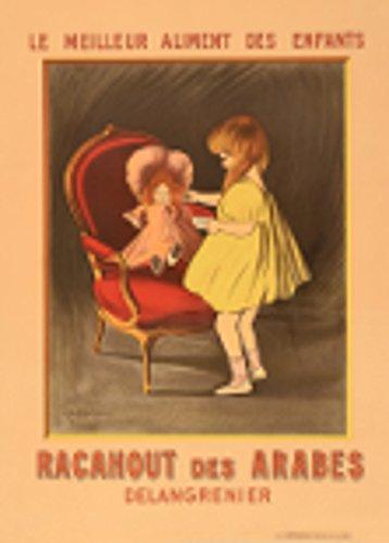 Vintage Lebensmittel und Konfekt racanout des Arabes, Frankreich von Leonetto Cappiello 250gsm, Hochglanz, A3, vervielfältigtes Poster -