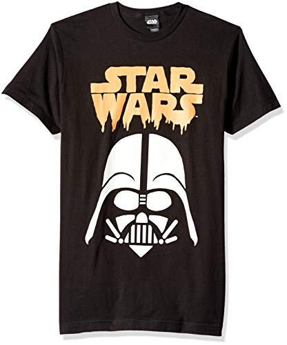 Star Wars Herren Licensed Halloween Vader Ghoul Men's Tee T-Shirt, schwarz, XX-Large (Geister Und Ghouls Halloween)