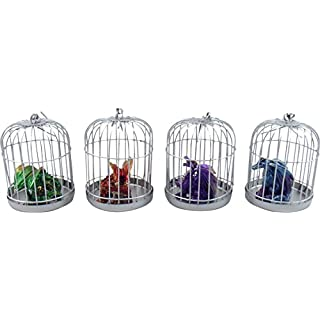 Nemesis Now Dragon Dragonling Pets Set 4 Designs in Hanging Cages Ornament