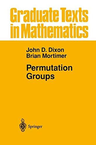 Permutation Groups (Graduate Texts in Mathematics)