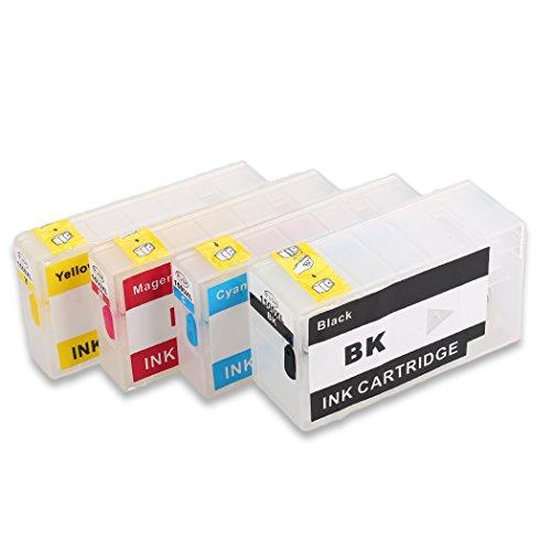HEMEI Leere nachfüllbare Tintenpatrone für Canon PGI-1500 PGI-1500XL-Tinte, funktioniert mit Canon MAXIFY MB2350 MB2050 MB2150 MB2755 MB2155 MB2750 MB2000 MB2300 Druckern -