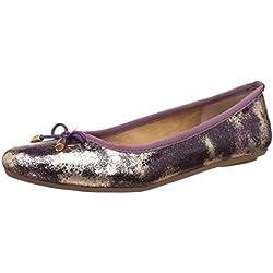 Bata Women's Sansa Purple Ballet Flats - 8 UK/India (41 EU)(5519310)