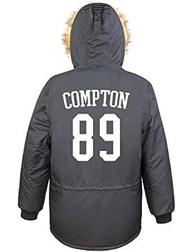 Compton 89 Parka Girls Nero Certified Freak