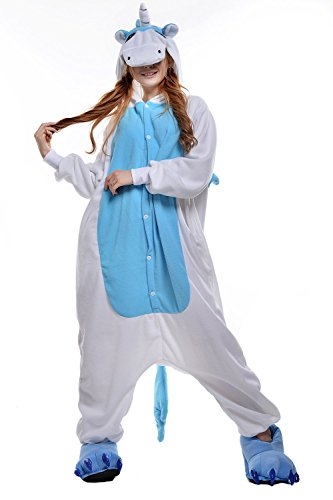 Animale-Pigiama-Feelme-Unicorno-Kigurumi-Pigiama-Adulto-Anime-Cosplay-Halloween-Costume-Tuta-Animali-Unisex