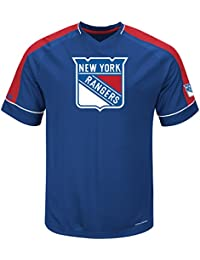 "New York Rangers Majestic NHL ""Expansion Draft"" V-Neck Men's Fashion Jersey Maillot"