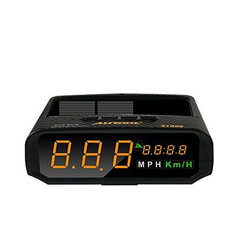 Preisvergleich Produktbild OBEST NIU Solar HUD Head Up-Display, Wireless Auto Beschleunigung Warnung Alarmsystem Windschutzscheibe Projektsystem (X100S)