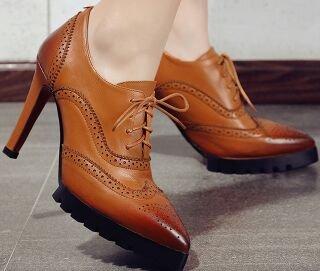 Laruise - Pantofole a Stivaletto donna Marrone