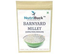 NutriBuck Barnyard Millet | Samak | Samo | Vari | Bhagar | Gluten-Free | (400 Grm)