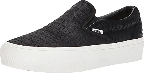 vans slip on platform damen