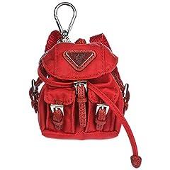 Idea Regalo - Prada portachiavi donna rosso