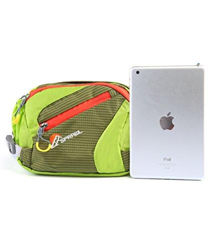 SPRAWL Gürteltasche Damen Multifunktionale Hüfttasche für Urlaub Grün