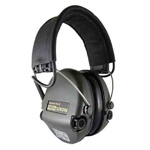 Gehörschutz Supreme Pro-X Schwarz/Oliv MSA Sordin