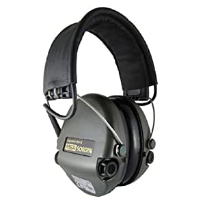MSA Sordin Supreme Pro X - Leder Stirnband AUX-Eingang